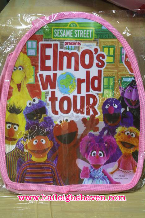Sesame Street Backpack (PINK, Small)
