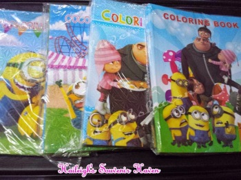 COLORING BOOK (BIG): Minions