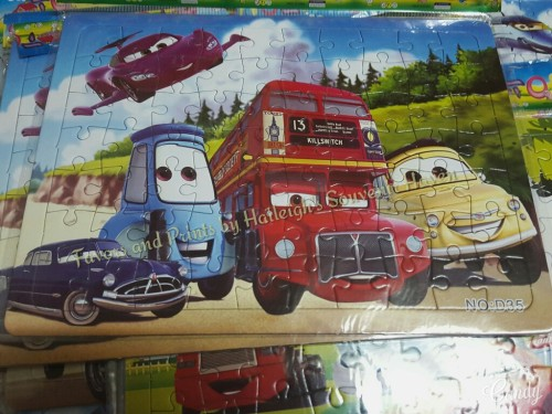 Disney Cars Puzzle (Large)