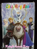 COLORING BOOK (SMALL, 12s): DISNEY FROZEN