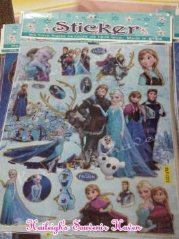 LASER STICKER (10s): DISNEY FROZEN