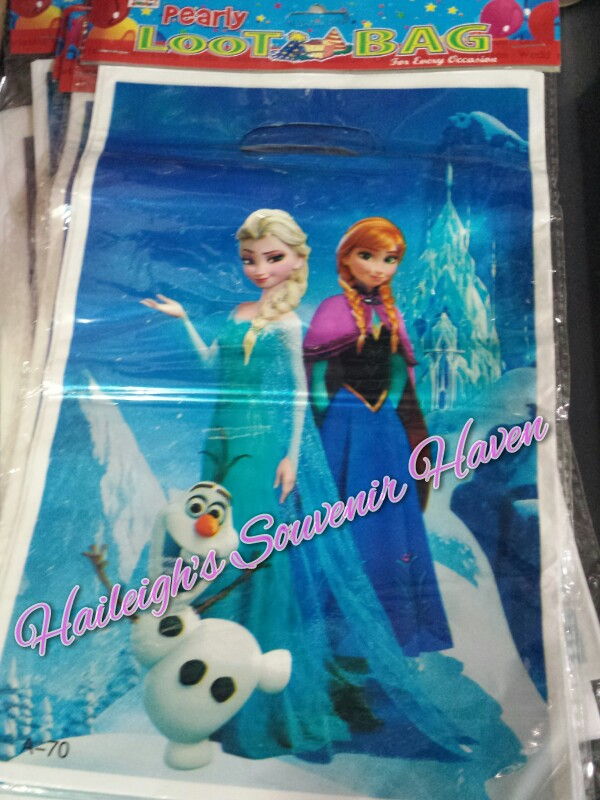 Disney Frozen Loot Bags (Small)