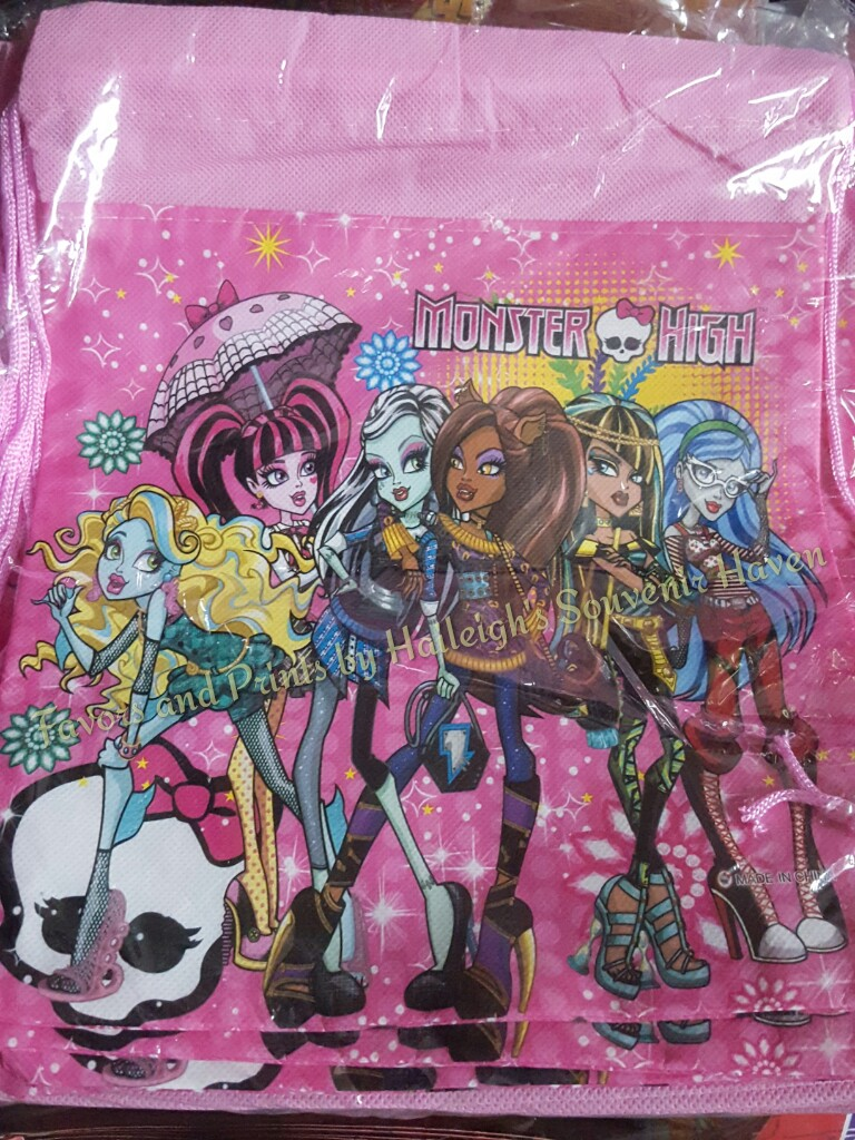 Monster High Drawstring Bag (Small)
