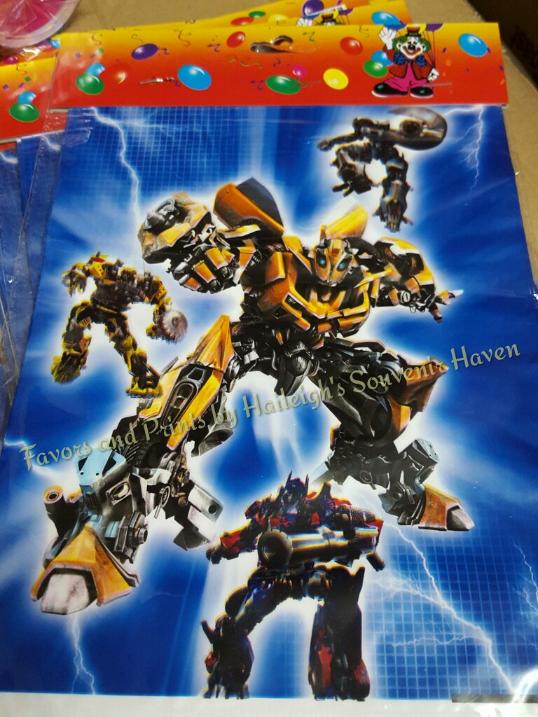 Transformers Loot Bags (Small)