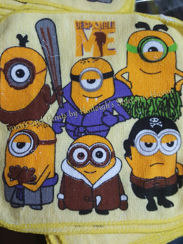 Minions Face Towel