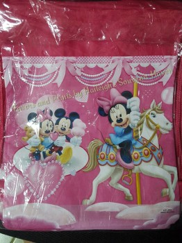 DRAWSTRING BAG (BIG, 12s): MINNIE MOUSE