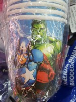 PAPER CUPS [10s]: AVENGERS