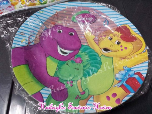 Barney and Friends Paper Plates