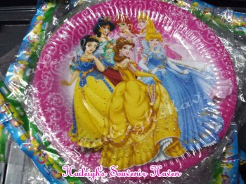 PAPER PLATES [10s]: DISNEY PRINCESS