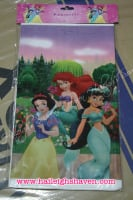 PLASTIC TABLE COVER: DISNEY PRINCESS