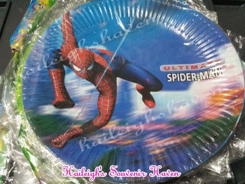 PAPER PLATES [10s]: SPIDERMAN