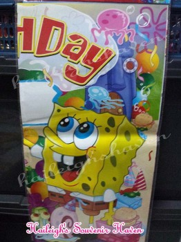 Party Banner (SPONGEBOB, Ready-Made)