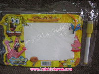 MINI-WHITEBOARD (12s): SPONGEBOB