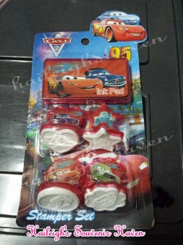 STAMP SET: DISNEY CARS