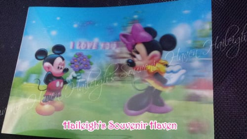 Mickey and Minnie Placemats