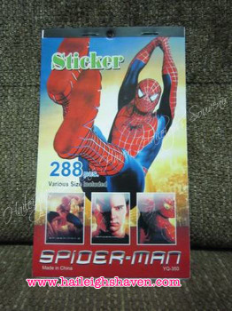 STICKER BOOK (12s): SPIDERMAN