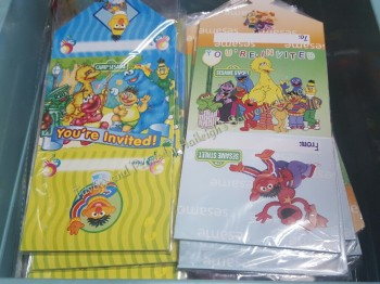 INVITES (Ready Made): Sesame Street