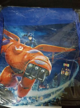 DRAWSTRING BAG (BIG, 12s): BIG HERO 6