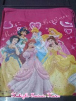 DRAWSTRING BAG (BIG, 12s): DISNEY PRINCESS
