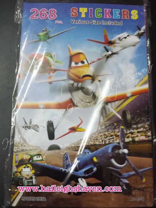 STICKER BOOK: Disney Planes