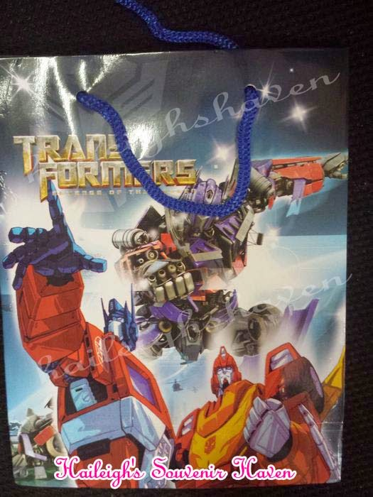 PAPERBAG (SMALL): TRANSFORMERS (10s)