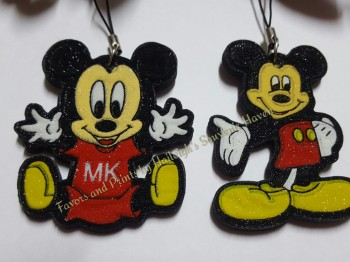 KEY CHAIN (FOAM): Mickey Mouse