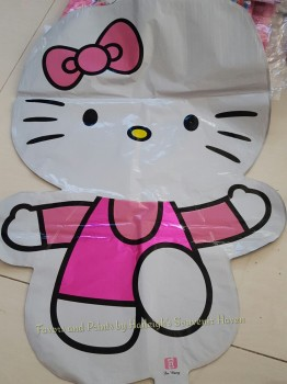 BALLOON (DIE-CUT, FOIL): HELLO KITTY (MEDIUM)