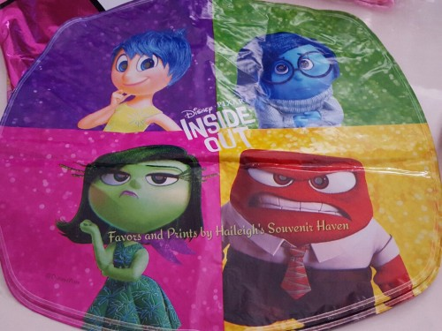 Inside Out Foil Balloon (Rectangular)