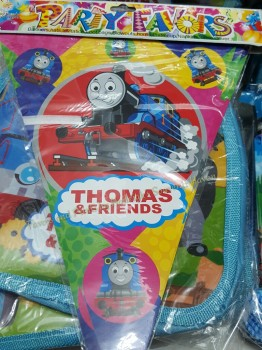 FLAG BANNERS / BANDERITAS: THOMAS THE TRAIN