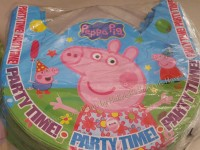 PARTY HATS (Regular, 10s): PEPPA PIG