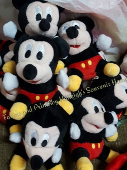 KEY CHAIN (PLUSH): MICKEY MOUSE