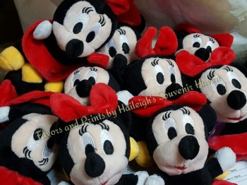KEY CHAIN (PLUSH): MINNIE MOUSE