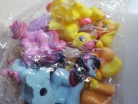 PENCIL TOPPER SET: LITTLE PONY (8s)
