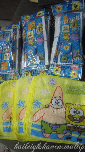 PENCIL SET: SPONGEBOB