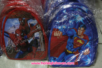 BACKPACK: SPIDERMAN (Small)