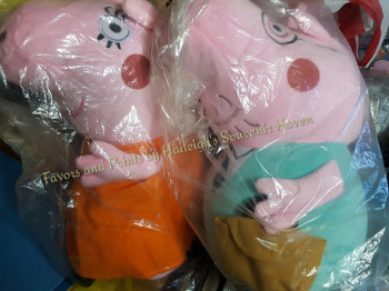 JUMBO PLUSH (~20 INCHES): DADDY / MUMMY PIG