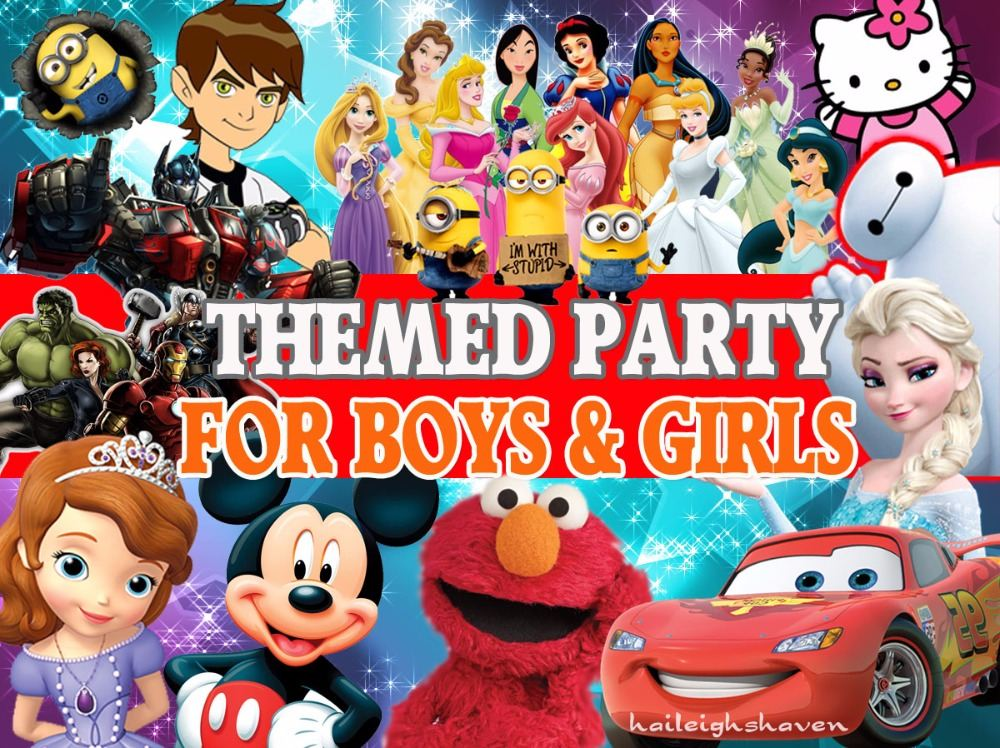 *UNISEX PARTY THEMES