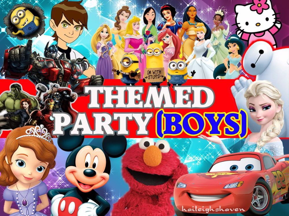 *BOYS PARTY THEMES