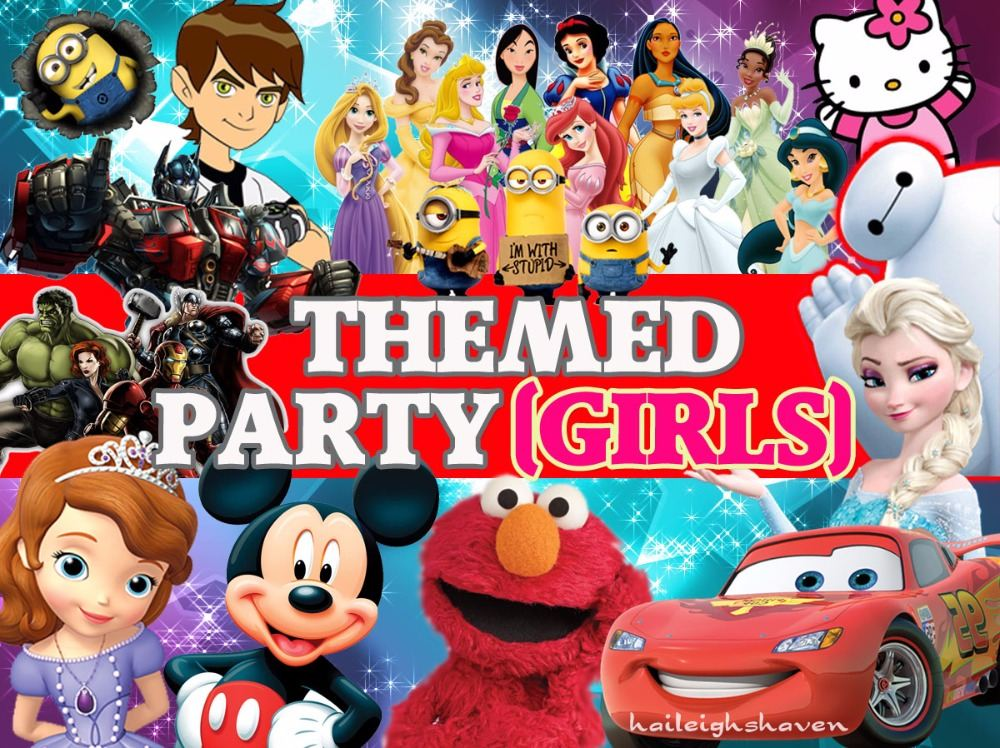 *GIRLS PARTY THEMES