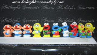 PENCIL TOPPER SET: SESAME STREET (10s)