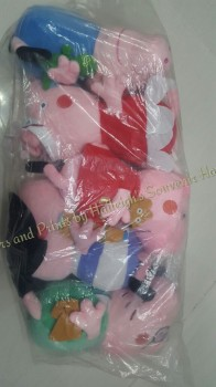 Peppa Pig 6-PC Stuffed Toy Set