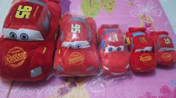 STUFFED TOY: DISNEY CARS - MCQUEEN (LARGE)