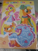COLORING BOOK (SMALL, 12s): LITTLE PONY