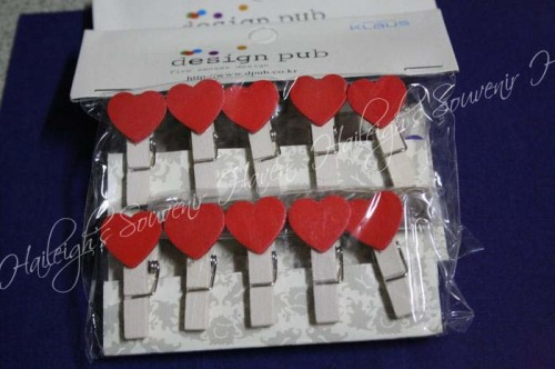 Wooden Clips: Assorted Designs
