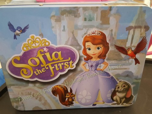 LUNCH BOX (TIN): SOFIA THE FIRST