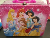 LUNCH BOX (TIN): DISNEY PRINCESS