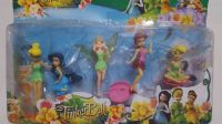 Tinkerbell and Friends Cake Topper Toy Set