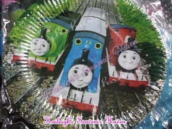 PAPER PLATES  [10s]: THOMAS THE TRAIN