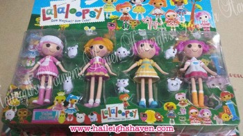 CAKE TOPPER TOY SET - LALALOOPSY