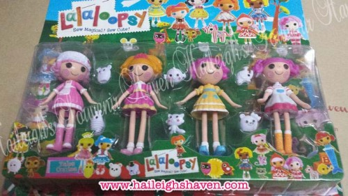 LALALOOPSY Cake Topper Toy Set